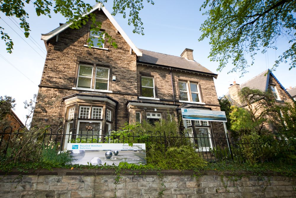 Rosalind Watchorn Solicitors Sheffield Offices